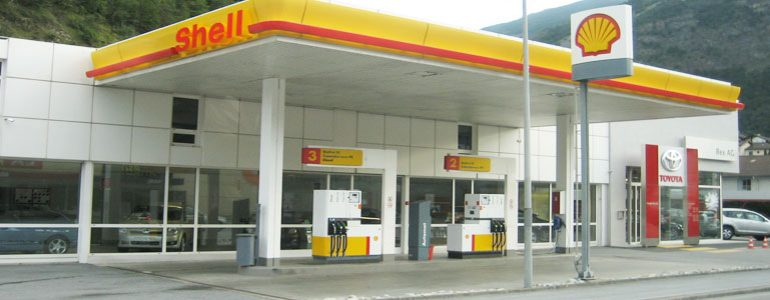 Gasoline Stations For Shell