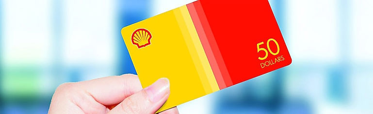 Shell Gasoline Cards